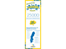 Svensk toppnotering i pantning - infografik över bästa län, kommuner och större städer på att panta i Sverige