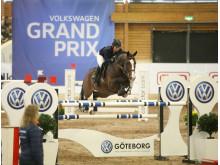 Linda Heed trea i Volkswagen Grand Prix