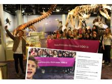 Youtubern Hampus på Naturhistoriska riksmuseet