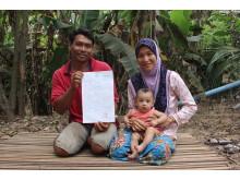 Födelseattest Kambodja