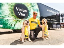 Growing concern over eye health in Gloucester as 94% of Vision Van visitors are found to be overdue an eye test