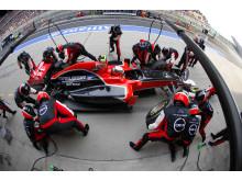 Depåstopp under Kinas GP 2011