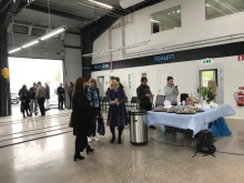 På tisdagen invigdes nya billackeringen på Polarrenens fastighet i Luleå.
