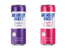 Absolut MIXT Berries - ab September 2019 im Handel