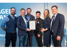 Sigma Technology Group is one of Sweden's Best Managed Companies 2019