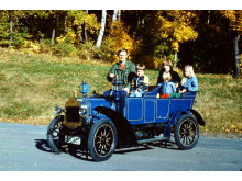 Orel 1907, familjeutflykt till Dalarnes Automobilklubb 100-årsjubileumsutställning