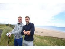 James Nesbitt will be taking part, pictured alongside Jamie Dornan