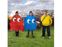 Pac-Man Regnponcho
