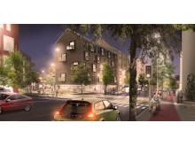 Poseidon och Egnahemsbolaget bygger 700 nya bostäder i Backa Röd