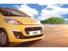Peugeot 107 fra 69.990 kr.