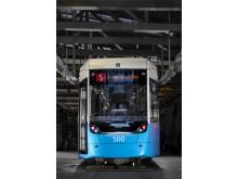 M33 Göteborgs nya spårvagn
