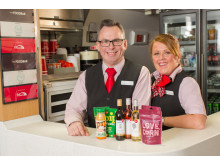 Virgin Trains is celebrating the refreshed retail offering on its east coast route, with a little help from on-board staff