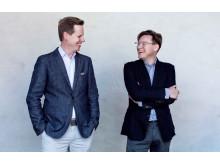 Andreas Utterström och Andreas Bergman - Foto: Morgon Norman