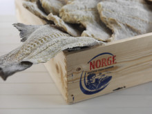 Klippfisk i kasse - Clipfish in a box