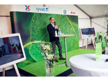 Mikael Bergström, direktör för Automatstationer & Fastigheter på OKQ8