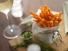 Sweet Potato Fries in kilner jar 2