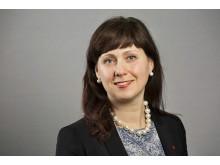 Vivianne Macdisi, sjukhusstyrelsens ordförande (S)