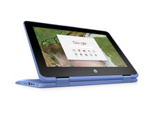 HP Chromebook x360 Blue