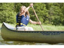 Paddla kanot på vår Höstdag 30 sept.