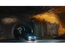 Ny Ford Fiesta ST i en af Europas største saltminer