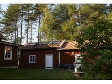Solcellsinstallation i Täfteå