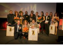 Vinnarna korade i Arla Guldko 2014