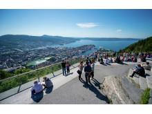 Die Hansestadt Bergen, eines der beliebtesten Reiseziele Norwegens