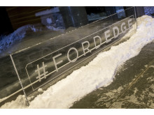 Nya Ford Edge pressvisas i Åre.