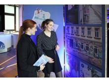 Ausstellung anlässlich der Präsentation des Facebook Community City Guides Leipzig