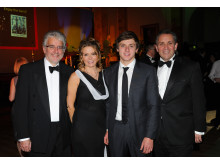 Dr Bruce Morland, Claire Simmons, Jordan King and Justin King