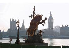 Nobility of Time när den visades i London