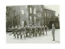 Exercis på Norra skånska regementet