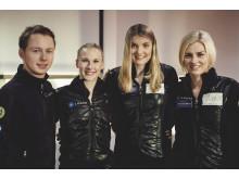 Alexander Majorov, Isabelle Olsson, Joshi Helgesson, Viktoria Helgesson