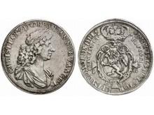 Norway Quadruple speciedaler 1680