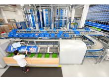 Schäfers Carosel-system står for superdynamisk enkeltstykplukning med op til 1.000 pluk pr. time og medarbejde