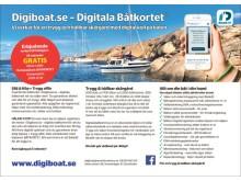 Lanseringserbjudande Digiboat.se Digitala Båtkortet