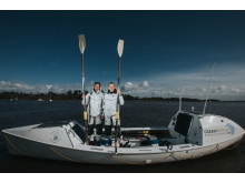 Hi-res image - Ocean Signal - Ocean Brothers, Jude Massey (right) and Dr Greg Bailey
