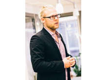 Föreläsaren Mikael Wallsbeck