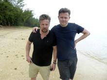 Filip Hammar och Fredrik Wikingsson, Jorden runt på 6 steg. FOTO: KANAL 5