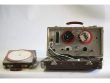 NRK arkiv til Teknisk museum. Langrennsklokke