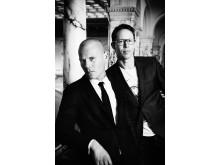 Mons Kallentoft och Markus Lutteman