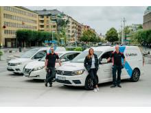 Ny bilpolicy - SafeTeam köper endast el- och gasbilar