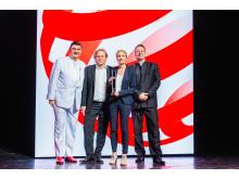 Red Dot Best of the Best für den numo von aeris. (Red Dot Gala am 8. Juli 2019)