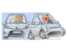 Hybridförare är lugnare och mer harmoniska.