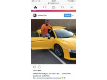 Instagram image -car