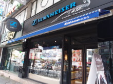 Sennheiser Music Cafe Entrance