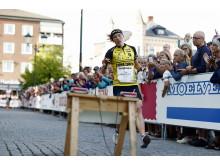 Tove Alexandersson i mål på Elitsprinten
