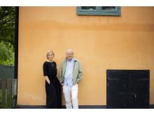 Anna Hedelius och Göran Willis