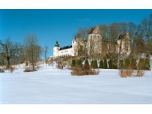 Tyresö slott i vinterskrud, foto Peter Segemark, Nordiska-museet