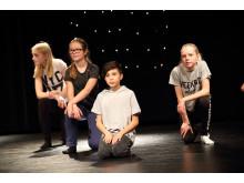Teaterkurs med mello-tema